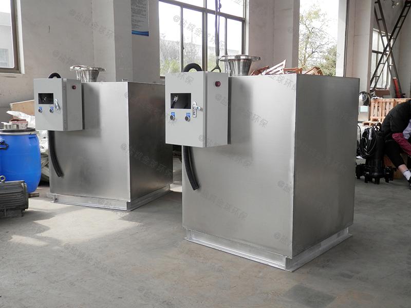 长沙地下商场隔油提升一体化设备结构图