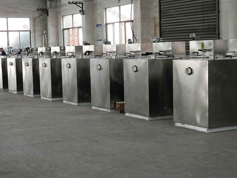 平江火锅店用隔油提升设备施工方案