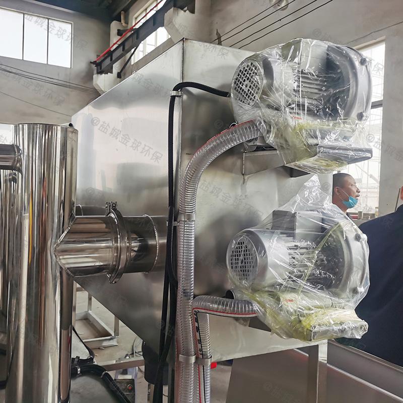 桂东火锅店用油水分离器施工方案