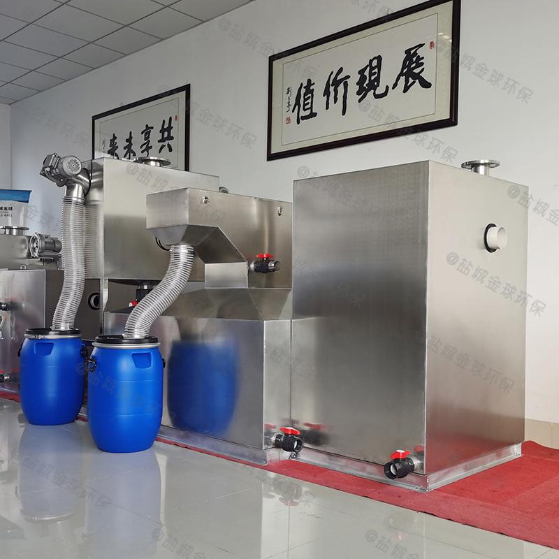 娄星小饭店隔油隔渣设备工程造价