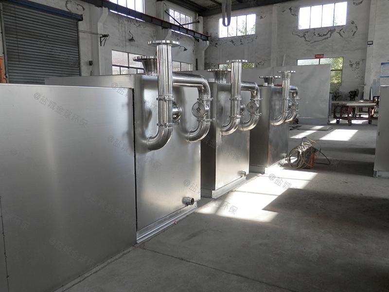 湘西单位食堂一体化隔油提升设备隔离原理
