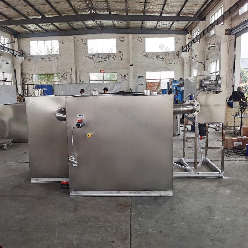 醴陵单位食堂油水分离设备隔离原理