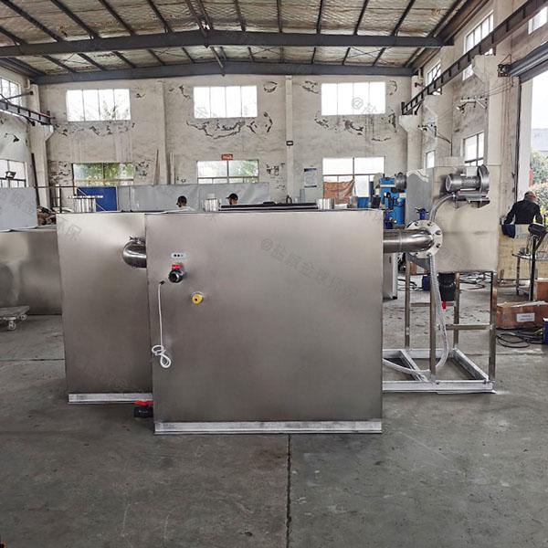 火锅大地下室简单排污油水分离器系列
