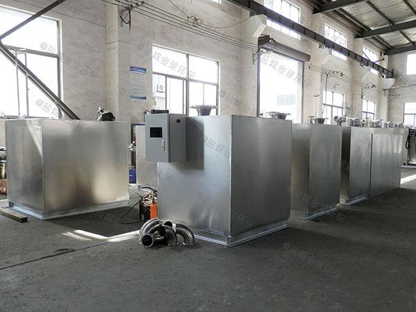 餐饮专用地下式中小型分体式废水隔油器有哪些规格