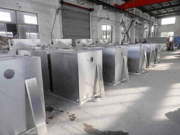 饭堂大型地面自动刮油气浮式隔油池的用途
