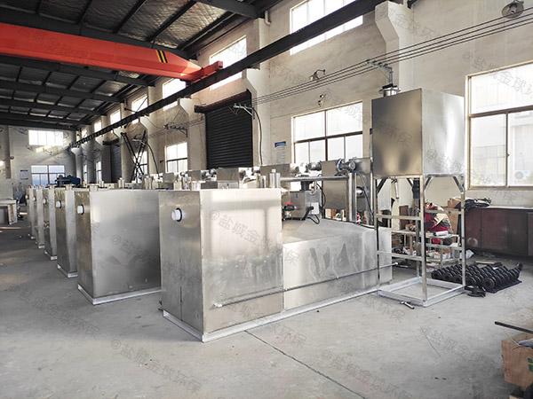 火锅专用户外大型自动排水隔油处理器做法