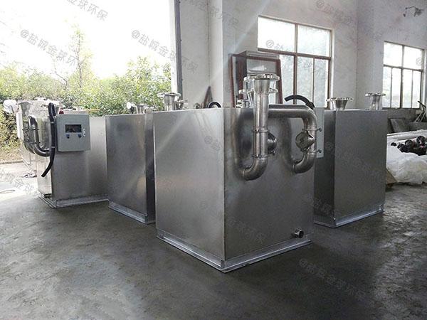 学校地下全自动智能型油水分离及过滤装置怎样安装
