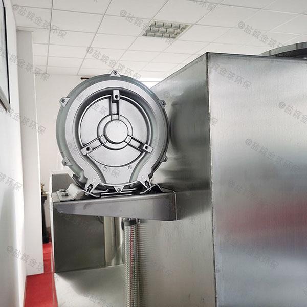 餐饮行业大型地面全能型气浮式油水分离器结构