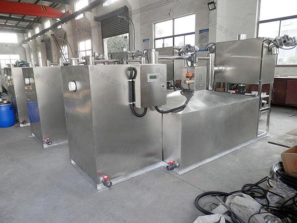 综合体地埋式大自动化餐厨垃圾油水分离设备制作方法