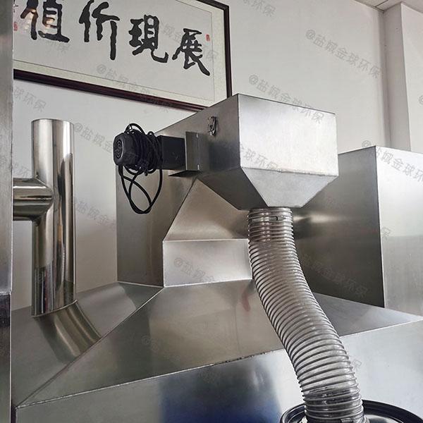 饮食业大地埋机械不锈钢隔油池厂家价格
