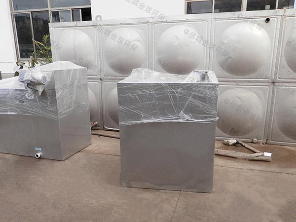 商业中小型地埋式自动提升一体化隔油池设备选择