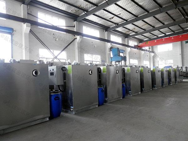餐馆大型埋地式自动提升隔油污水提升设备需要多少钱