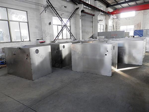 火锅专用中小型地面自动提升水油分离处理设备知名品牌