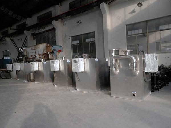 餐饮类大室内全能型隔油强排一体化设备的油如何处理