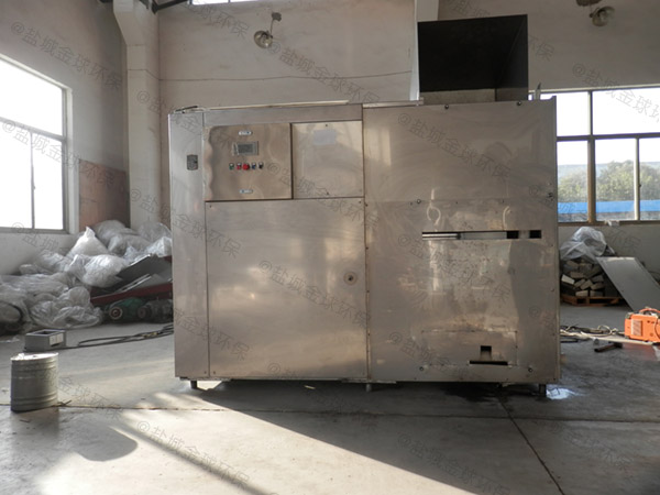 后厨中小型地上智能型不锈钢隔油设备方案