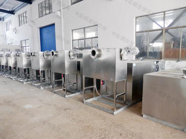 火锅专用中小型室内自动化强排油水分离器正确安装