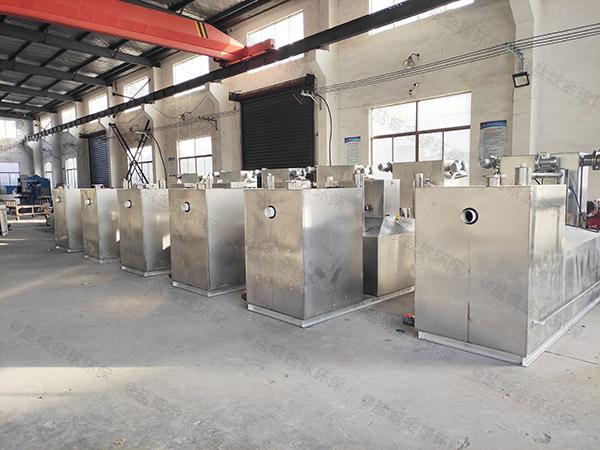 厨房埋地移动式成套隔油池设备哪里能买到