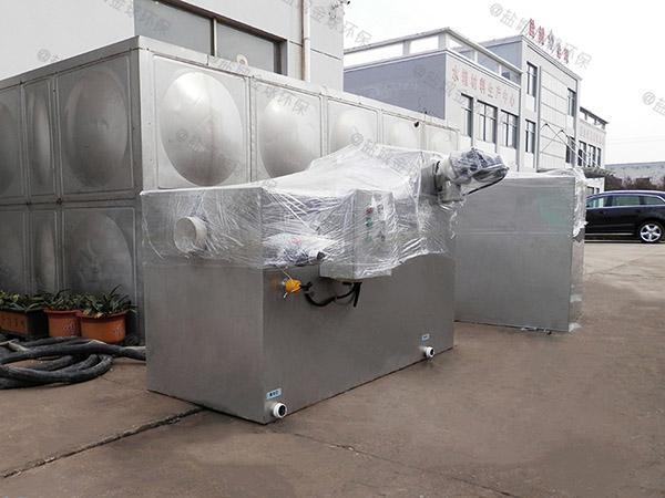 食堂用户外中小型分体式水与油分离机器简介