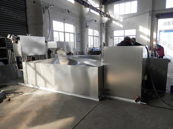 商家室内无动力潲水油水分离器维修