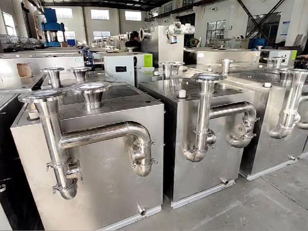 餐厨垃圾地下室大型智能型油水分离器提升设备公司