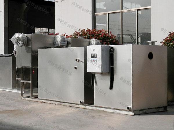 餐饮业大型室内自动化隔油全自动提升设备在什么位置