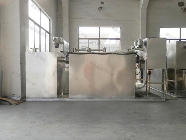 饭堂大地埋式组合式油水分离过滤设备怎么做