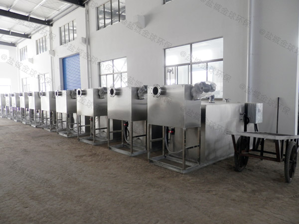 饭店埋地式分体式隔油提升一体化设备