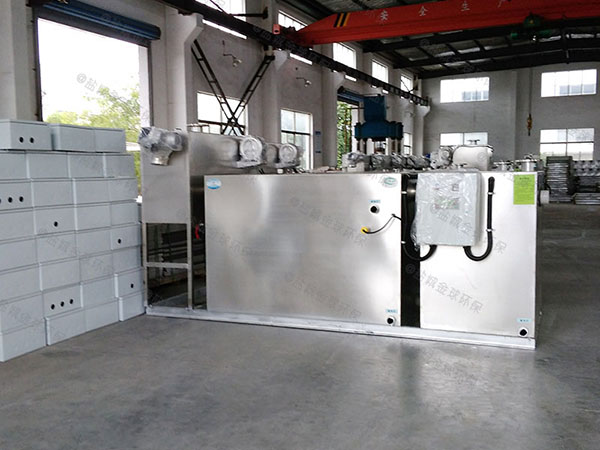 商家中小型简单除油污水处理设备制作方法