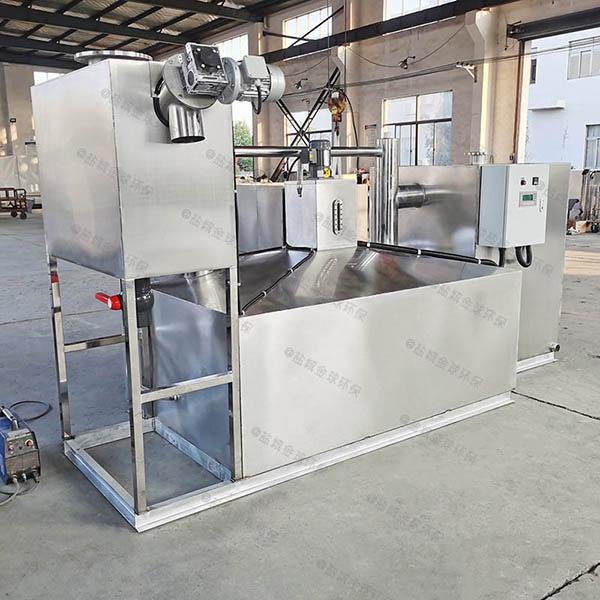 餐饮类地上式中小型智能型潲水油水分离器内部结构