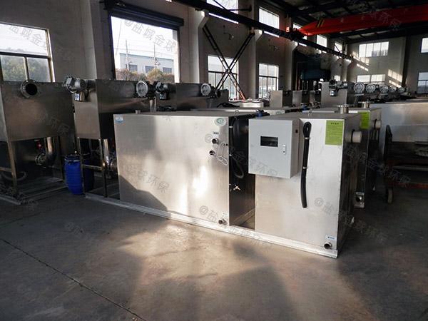 餐饮类大型地上机械一体化隔油污水提升设备市场