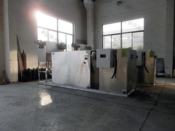 工厂食堂地面式中小型分体式一体化油水分离装置哪家好