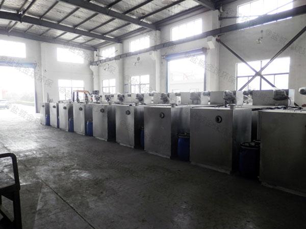 食堂地下式大移动式隔油提升一体设备销售