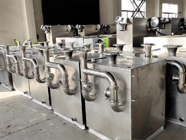 火锅店地面式大自动提升隔油隔渣设备做什么的