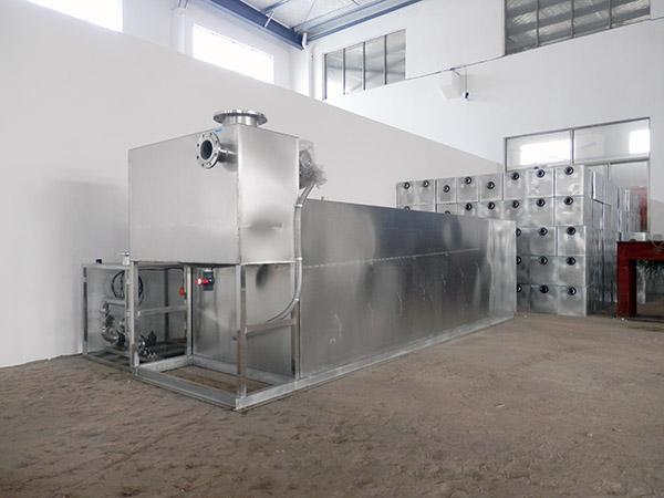 餐饮专用中小型地埋式自动化不锈钢油水分离机产业