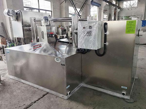 中餐中小型自动一体化油水分离设备的厂家有那些