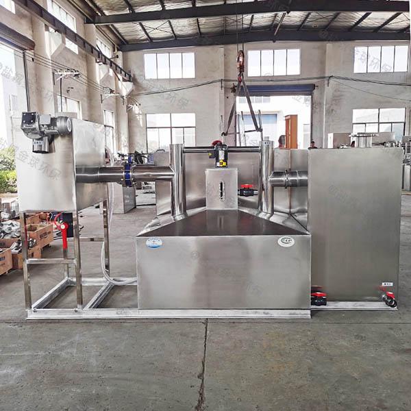 商家中小型地面式全能型隔油强排一体化设备的材质