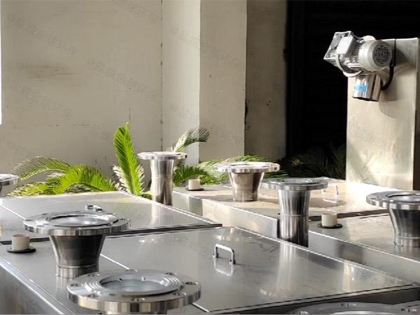 餐饮行业地下式自动油水分离隔油器供应