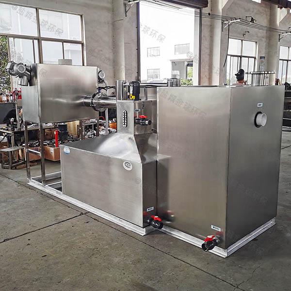 后厨大埋地移动式隔油强排一体化设备怎样用