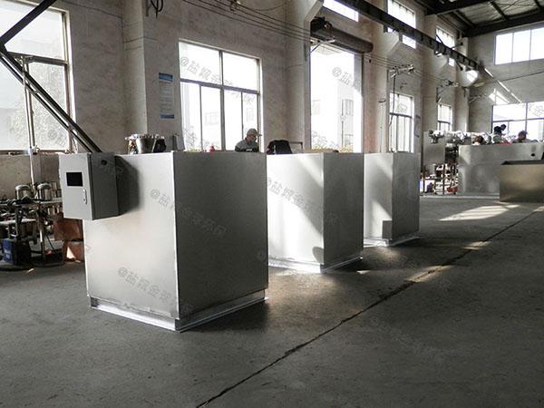 餐馆大型埋地自动不锈钢油水分离机材料