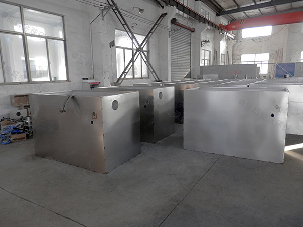家庭中小型地下室组合式下水隔油池安装位置