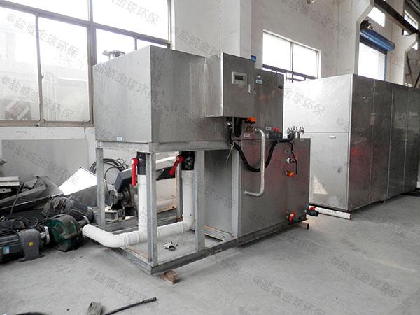 火锅店大型室内组合式污水提升及隔油设备什么品牌好