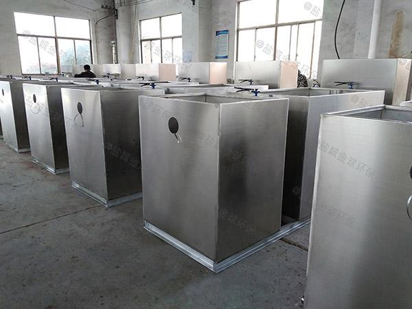 地面式组合式一体式隔油池规格型号