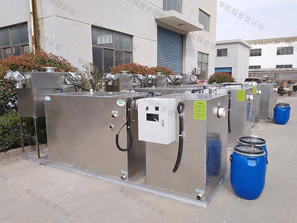 酒店户外大型无动力气浮式油水分离器产品公示目录