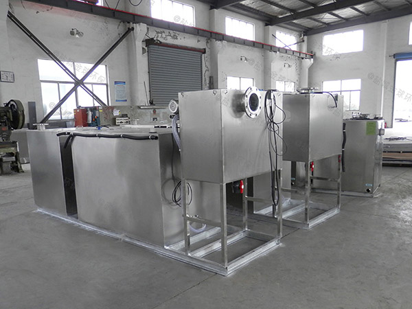 餐饮业中小型地下式机械下水隔油设备保养