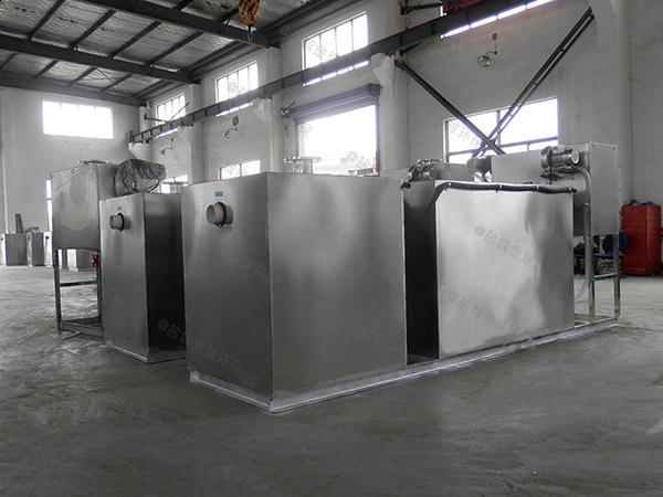 火锅地面式自动刮油一体化油水分离装置报价