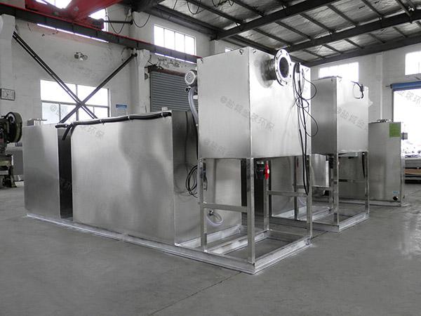 单位食堂埋地式中小型移动式隔油处理器参数