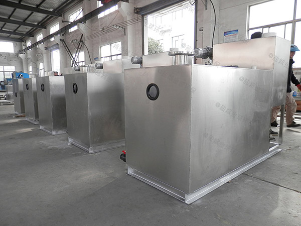 餐厨地埋式气浮式自动隔油器需要泵吗