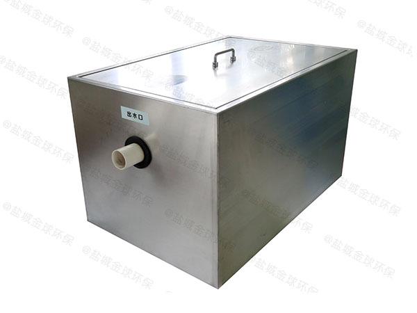 餐饮专用中小型室内全自动智能型油水分离器一体化设计规范