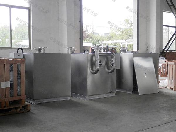 学校大型地面机械隔油除渣器使用要求