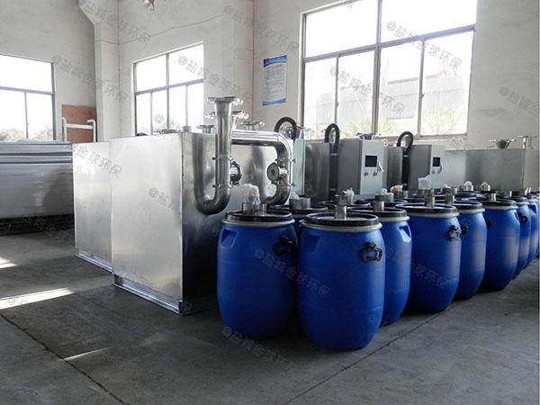 居民用大地埋式自动提升隔油污水提升装置的选型